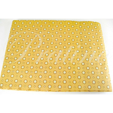 Duvet cover Double Plaid Yellow 255x250 +2Federe