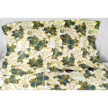 Duvet cover Single Green Patterned Arabesque 155x200 +1Federe
