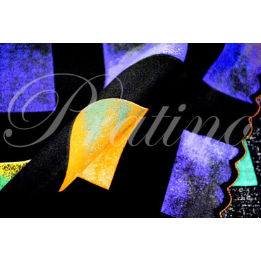 Completo Singolo 1Piazza Nero Fantasia Arcobaleno 180x290 +1Federa sotto piano