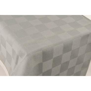 Tablecloth Rectangular x12 Gray Paintings Jacquard 270x180 Without Napkins 84010