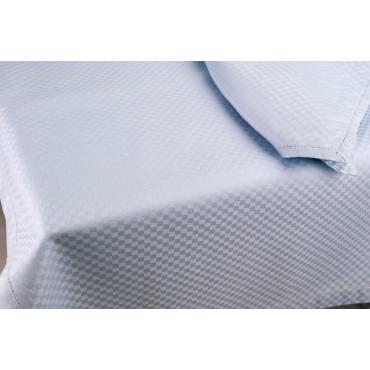 Tablecloth Rectangular x12 Heavenly Flanders Squares 270x180 +12 Napkins 8060