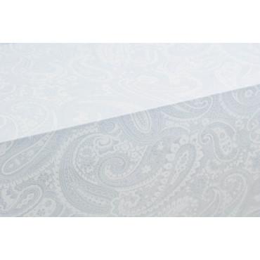 Tablecloth Rectangular x12 Heavenly Paisley print 270x180 +12Tovaglioli 8220