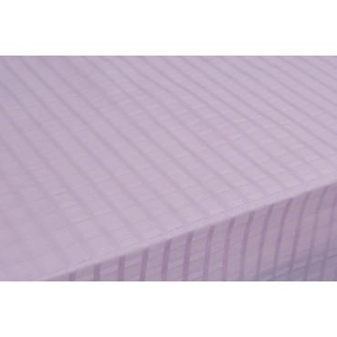 Tovaglia Rettangolare x12 Organza Cotone Rosa Acceso Quadretti +12 Tovaglioli 270x180 8071