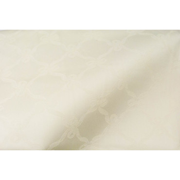 Tablecloth Rectangular x12 Light Yellow Knot Love 280x180 without napkins 8030
