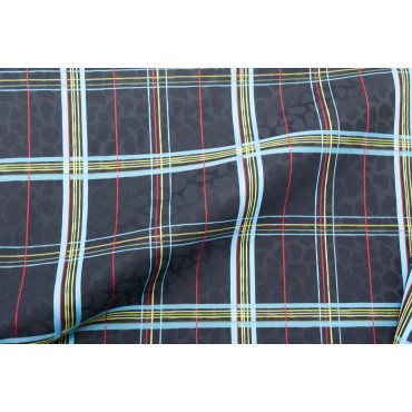 Double bedspread Satin Cotton Black Heavenly Scottish Paintings 270x270 Rebrodé
