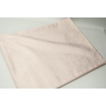 Bedspread Copritutto Double Satin Cotton Pink Bouquet 270x270 ref. Square