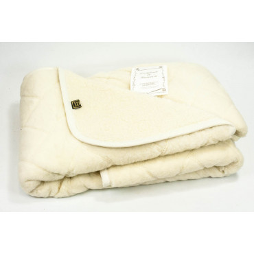 Coltrone Double Fleece of Wool in 6.7 Kg 220x240 - Ivory Plug-in 2 Squares