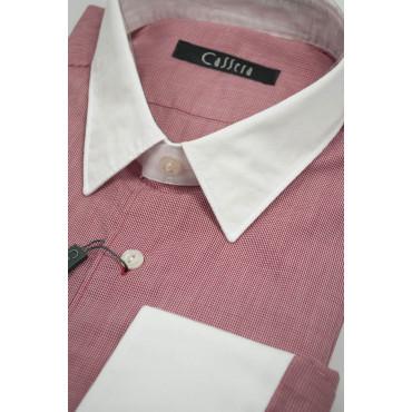 CASSERA Shirt 16 41 Red Neck White