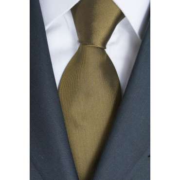 Tie Bronze Regimental Purple - 100% Pure Silk - Sergio Girombelli