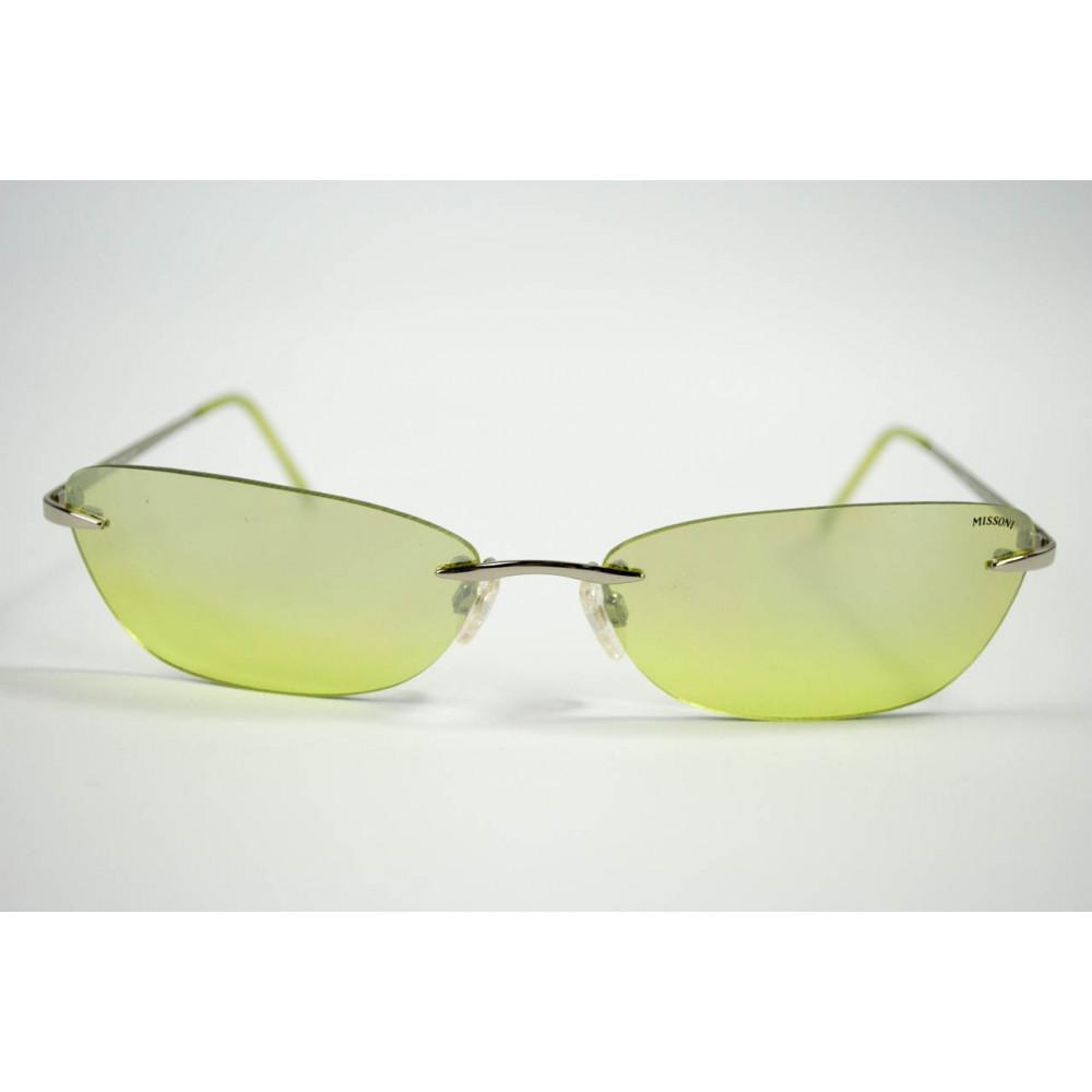 Missoni Occhiali da Sole Silouette Lenti Verde - 03