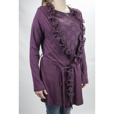 TwinSet Donna Pizzo e Gale L Bordeaux - Pierre Cardin