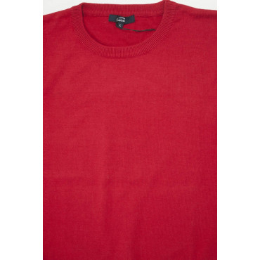 Pullover Estivo Girocollo L Rosso Tintaunita - Cotone