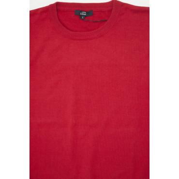 Pullover Estivo Girocollo XL Rosso Tintaunita - Cotone