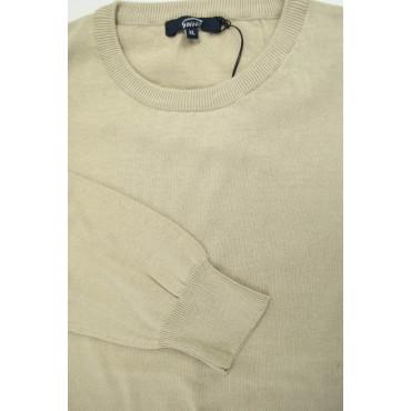 Pullover Estivo Girocollo XL beige Tintaunita - Cotone