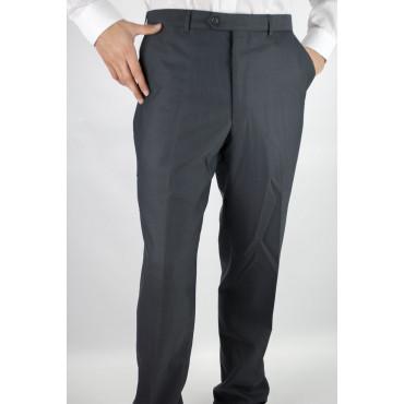 Pantaloni Uomo Classico taglia 50 Grigio Scuro Frescolana - PE