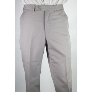 Pantaloni Uomo Classico taglia 46 Grigio Chiaro Cotone - PE