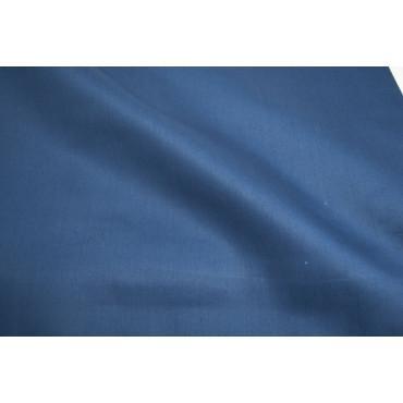 Copripiumino Una Piazza e Mezza Blu Notte Raso Cotone 220x250 senza federe 7091