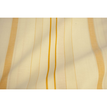 Duvet cover Copritrapunta Double Rows of Ivory Yellow 270x290 without pillowcases 7400