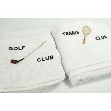 Sports towel from Neck Tennis Club - Golf Club
