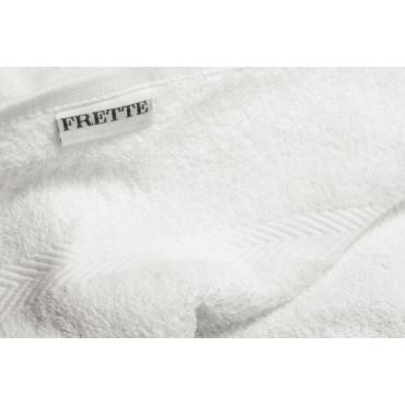 FRETTE Asciugamano Viso Spugna 50x100 colore bianco
