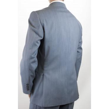 Abito Uomo Classico 50 Azzurro Cartazucchero Frescolana 30217 4ST