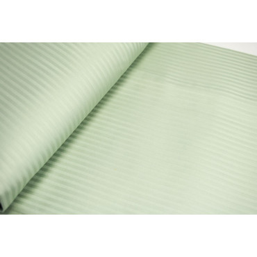 Duvet cover 1Piazza and Half Satin Cotton Stripes Sage Green, Clear 220x250 without pillowcases 7060