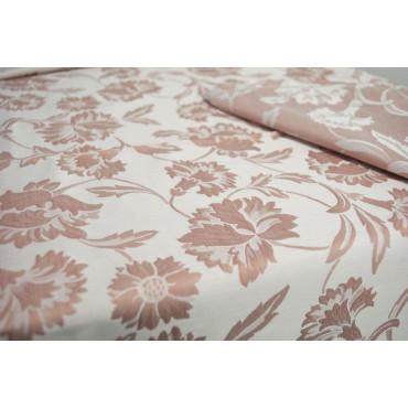 Tablecloth Rectangular x12 270x180 Flanders Carnation Damask Pink 8035