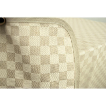 Tovaglia Rettangolare x6 Beige Naturale Quadri Toscana 140x180 850100