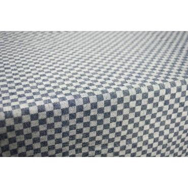 Tovaglia Rettangolare x6 Blu Quadretti Toscana 140x180 850105