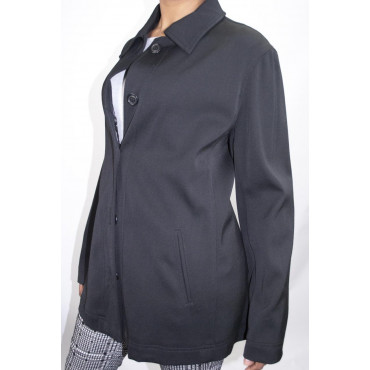 Jacket Woman Long type trench coat size M - BluScuro Frescolana - No Brand Sample
