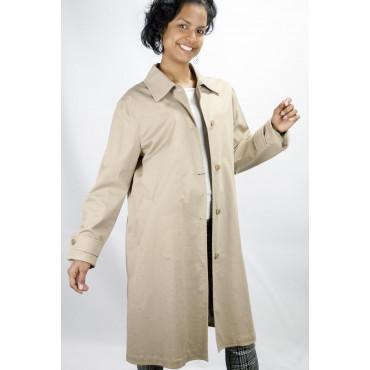 Duster Coat Long Woman's size 42-44 - Light Beige