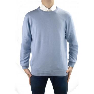Camisa para hombre de Luz de cuello de tripulación de la Celestial S-M-L-XL-XXL - Cachemir Cachemira