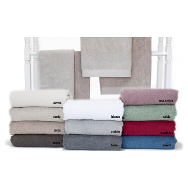 Shabby Chic Checked Terry Towels