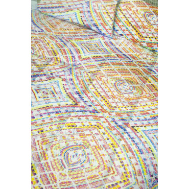 Duvet Quilt Double Spots With Bright Colors Digital Printing - Tokyo