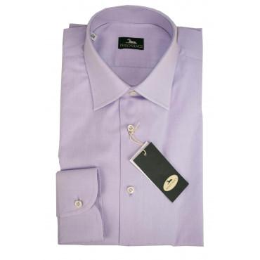 El hombre de la camisa por el Vestido Lila de Popelina de Filafil - Philo Vance - Aciano