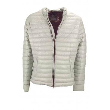 Jacket down jacket Ultra-Light Men 54 XXL Light Gray - Montereggi
