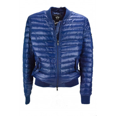 Jacket Bomber Jacket Ultra-Light Man 50 L Blue - Impervela