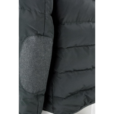 Down Jacket Man 50 L Black Anthracite - Montereggi