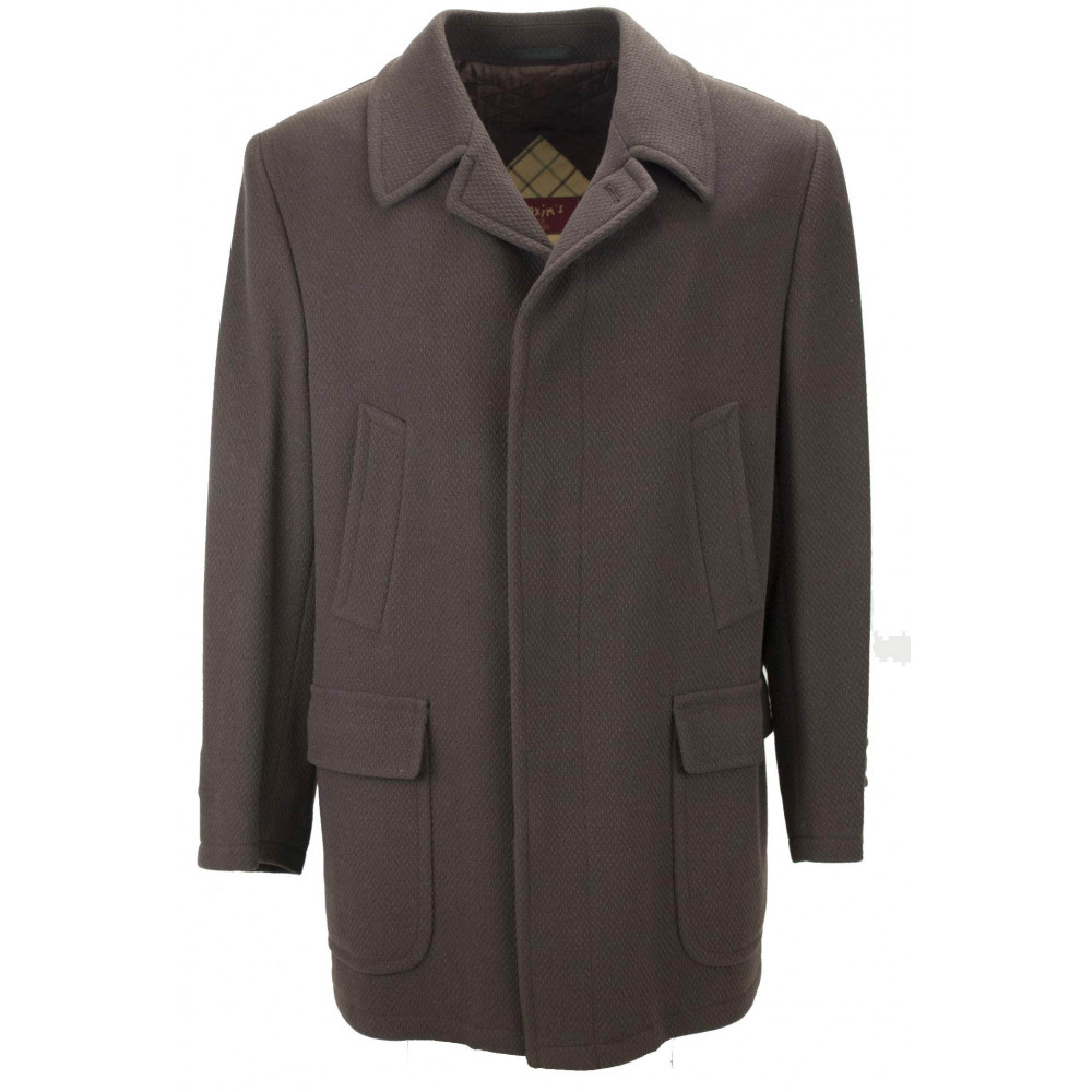 50 L Men's Coat Brown Wool Thorn Cloth - Men's Suits, Jackets and Vests