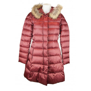 Jacket Down Jacket Lightweight Women's 42 S Bordeaux Iridescent Ultralight - VLab