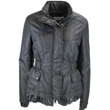Jacke Daunenjacke Damen 44 M Matt - Schwarz Montereggi
