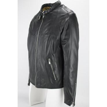 Soft Leather Jacket Man 50 L Black - Impervela