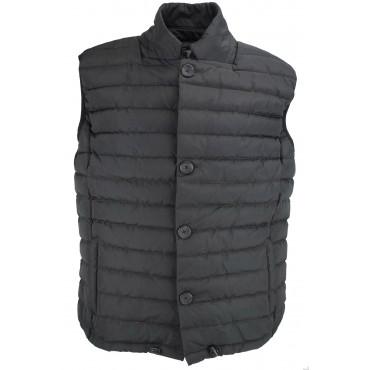 Vest down jacket Men's 52 XL Black - Impervela
