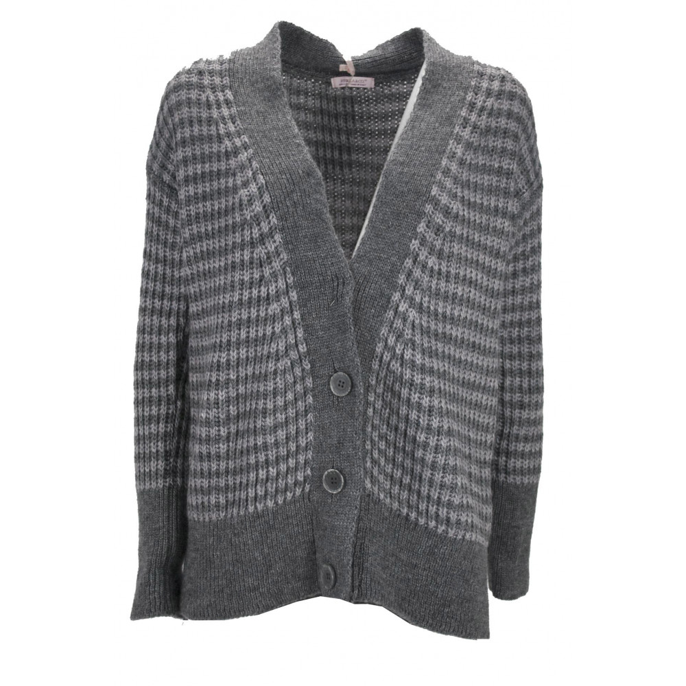 Cardigan Open Women's Wool blend 6Fili - Hekla&Co