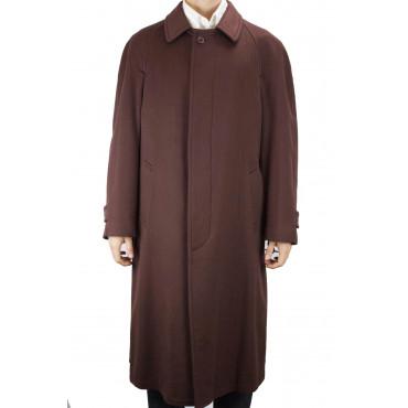 Abrigo clásico 46 S Pure Cashmere Brown