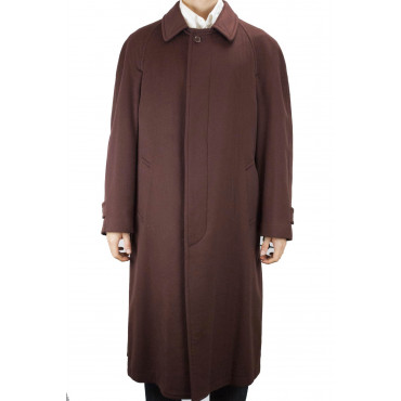 Classic Coat 46 S Pure Cashmere Brown