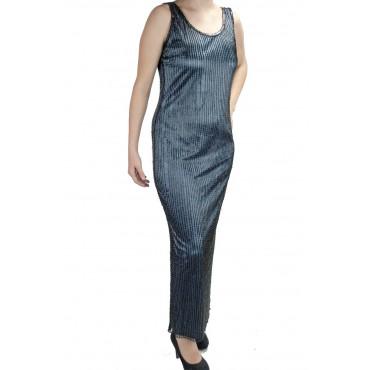 Woman Long Overcoat Elegant M Light Blue Black - Rain of sheath dresses