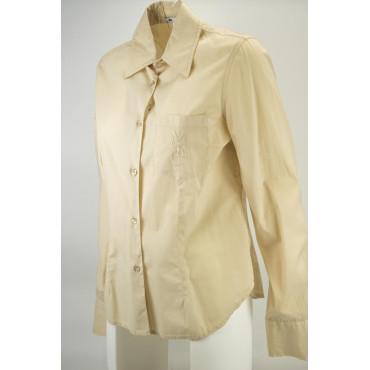 LES COPAINS Chaqueta de Atornillado Mujer Bolsillo 44 M Beige Vestidos, Camisas, t-shirts