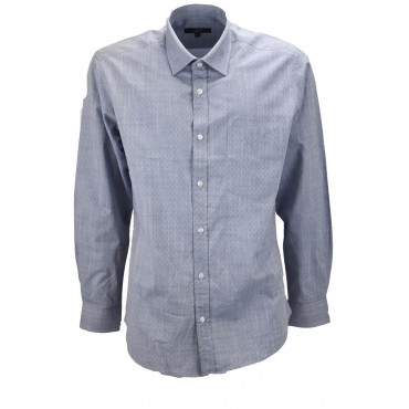 A Classic shirt, the Heavenly Man Jeans Pattern Rombi - collar French