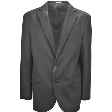 Men's jacket Classic 54 Drop 4 Black Cloth Cashmere Wool 2Bottoni
